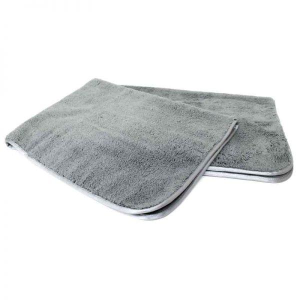 Microvezel droogdoek grijs 60x90 cm