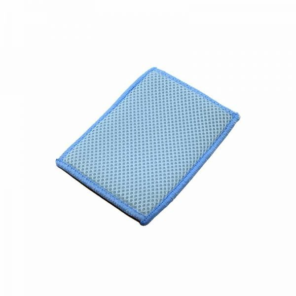 The Rag Company Bug Scrubber Pad - Auto Insectenspons Blauw