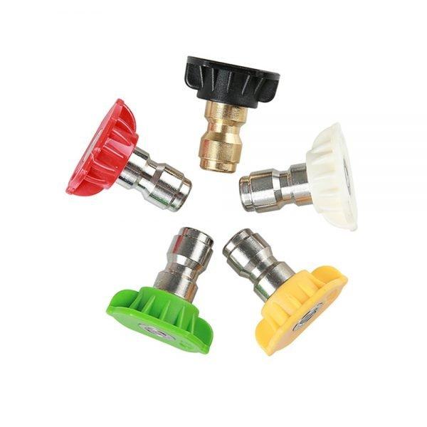 """1/4"""" Quick Release Pressure Washer Nozzle Set"""