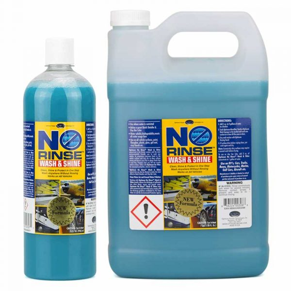 Optimum No Rinse Wash & Shine